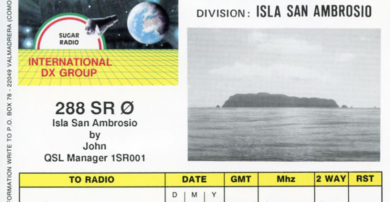 Photo of 288SRØ – Isla San Ambrosio