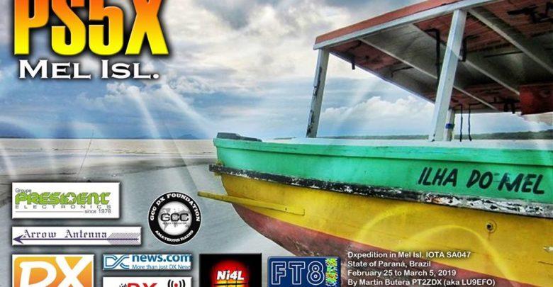 Photo of PS5X – Ilha do Mel, SA-047 – Update
