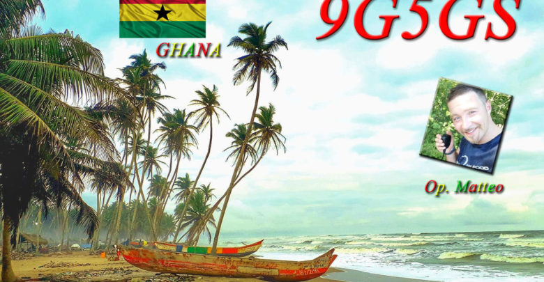 Photo of 9G5GS – Ghana