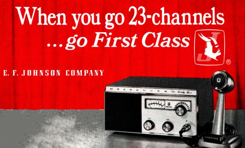 Photo of EF Johnson Messenger 223 Vintage
