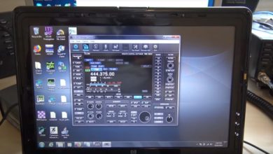 Photo of Icom IC-9700 Remote Operation, RS-BA1 Software