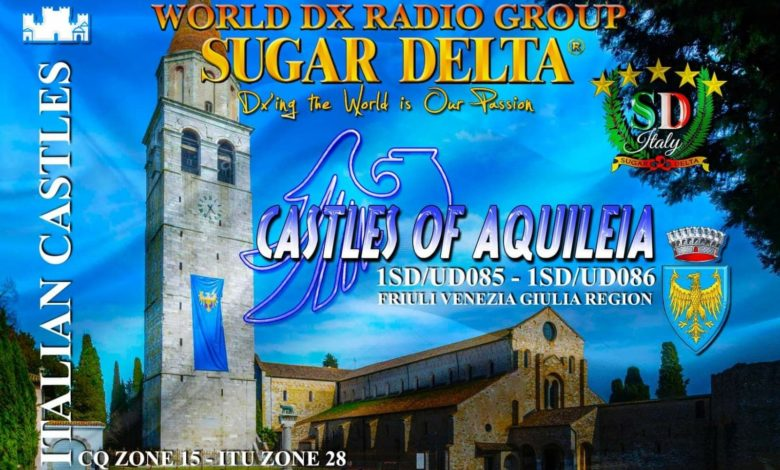 Photo of 1SD/UD085 & 1SD/UD086 –  Castle of Aquileia