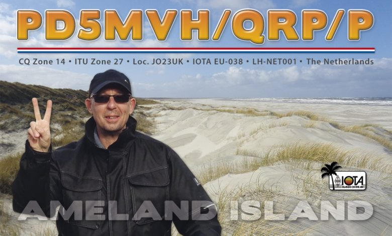 Photo of PD5MVH/P – Ameland Isl, EU-038