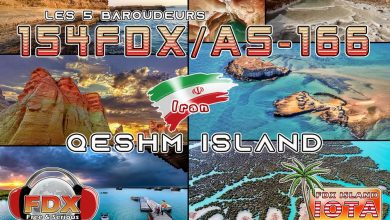 Photo of 154FDX/AS166 – Qeshm Island