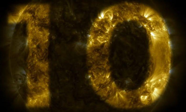 Photo of SDO celebra un decennio di osservazioni del sole
