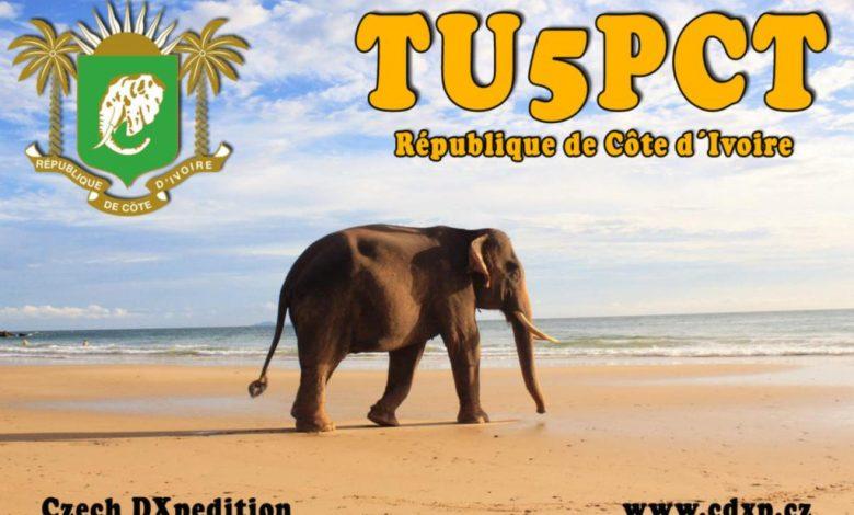 Photo of TU5PCT – Costa d'Avorio