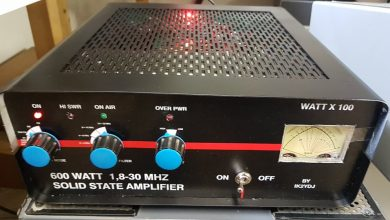 Photo of SR Solid State Linear Amplifier 600 W