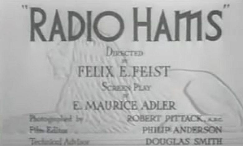 Photo of Radio Hams 1939