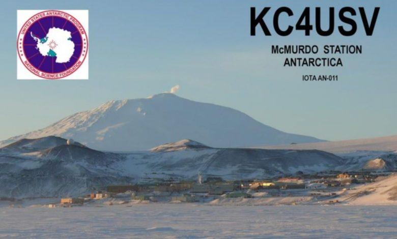 Photo of KC4USV – McMurdo station, Antarctica