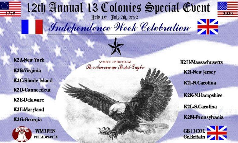 Photo of 13 Colonie – U.S. Evento speciale