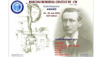 Photo of XXIV edizione – Marconi Memorial Contest HF CW