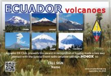 Photo of HD0DX – Ecuador Volcanoes, Special Call
