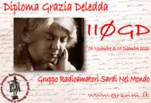 Photo of II0GD – Sardegna, Diploma Grazia Deledda